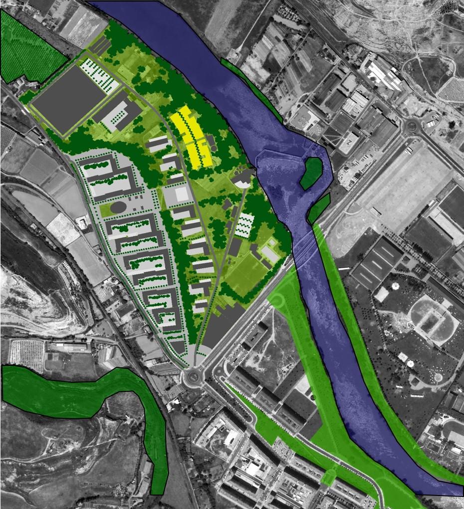 Ecobarrio Ebro entorno