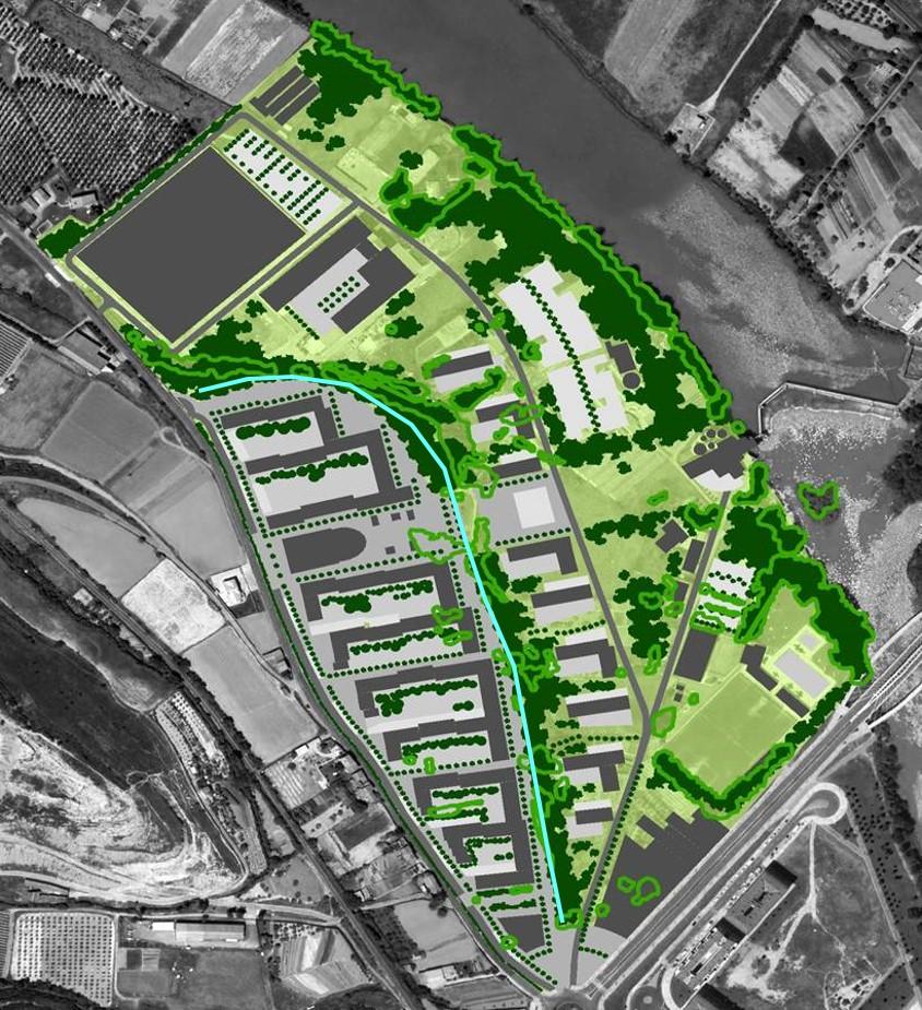 Ecobarrio Ebro zonas verdes
