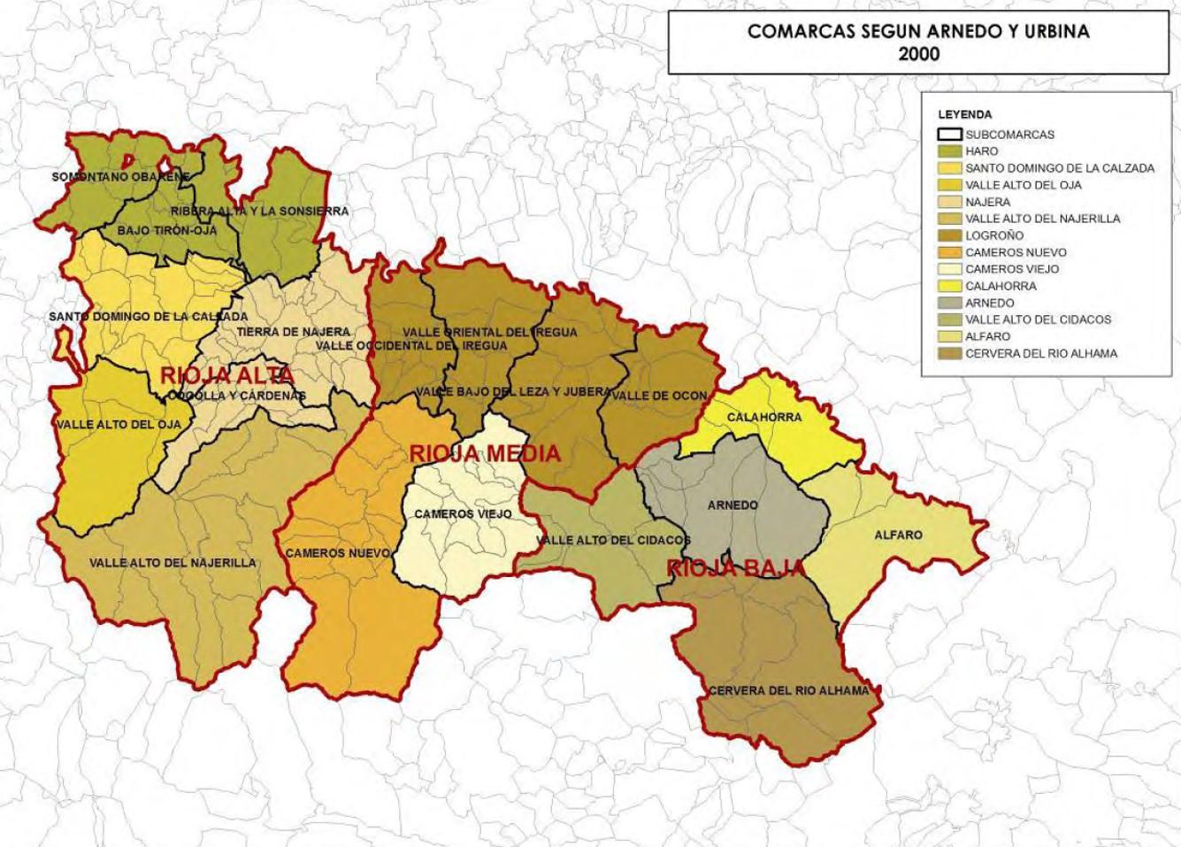 Comarcas Rioja
